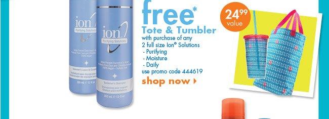 free* tote & tumbler