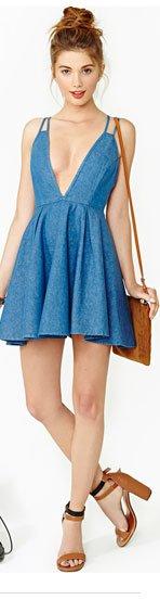 Summer Days Denim Dress