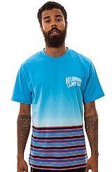 The Gradient Stripe Crewneck T-Shirt