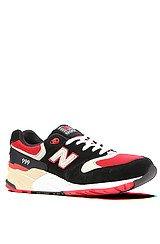 The Elite Edition 999 Sneaker in Black, White, & Red