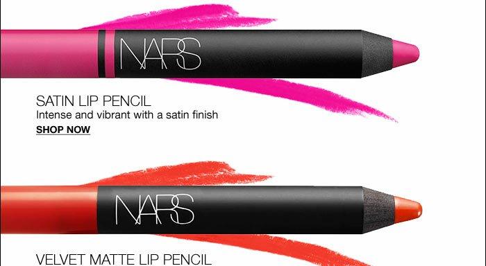 NARS Signature Jumbo Lip Pencils