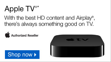 Apple  TV.* With the best HD content and Airplay, there is always something  good on TV. Apple Authorized Reseller. Shop now.