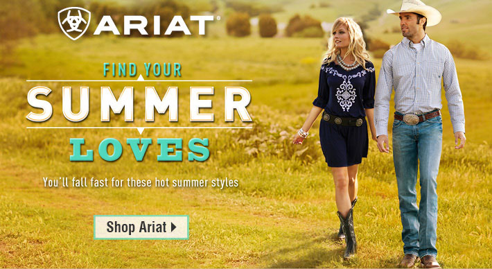 Ariat - Find Your Summer Loves - Shop Ariat
