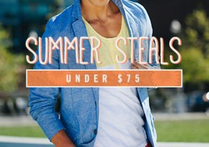 Shop Summer Steals Under $75