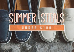 Shop Summer Steals Under $100