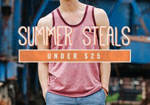 Shop Summer Steals Under $25