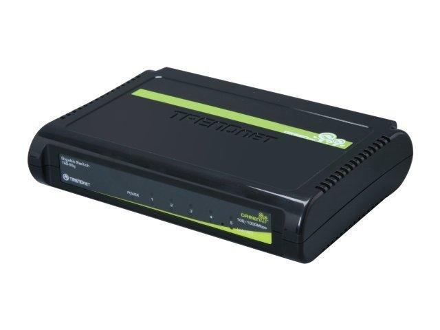 TRENDnet TEG-S5g 10/100/1000Mbps Gigabit GREENnet Switch
