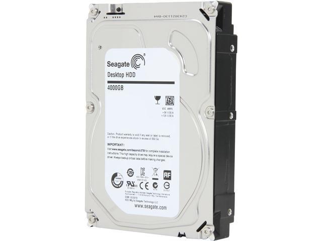 Seagate Desktop HDD.15 ST4000DM000 4TB 64MB Cache SATA 6.0Gb/s 3.5 inch Internal Hard Drive