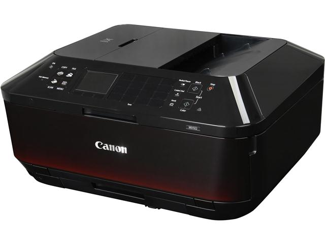 Canon PIXMA MX922 ESAT: 15.0 ipm Black Print Speed 9600 x 2400 dpi Color Print Quality Wireless InkJet MFC / All-In-One Color Printer