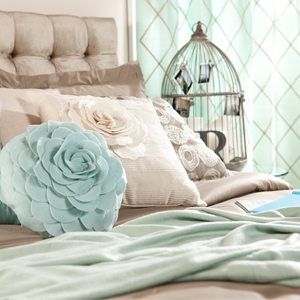 Toss On Finishing Touches: Throw Pillows & Curtains