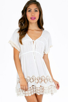 TOORI CROCHET COVER UP TUNIC 36