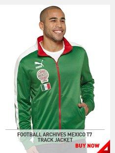 FOOTBALL ARCHIVES MEXICO T7 TRACK JACKET