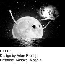 HELP - Design by Arian Rrecaj / Prishtine, Kosovo, Albania