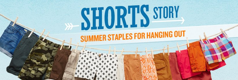 SHORTS STORY | SUMMER STAPLES FOR HANGING OUT