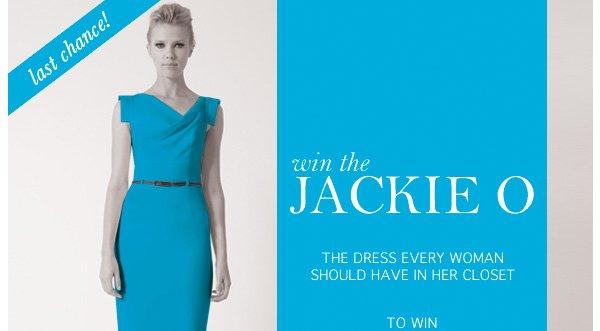 Win the Jackie O