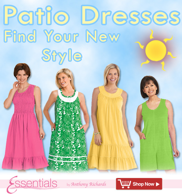 Find a Patio Dress In a Style Made for You! Shop Now >