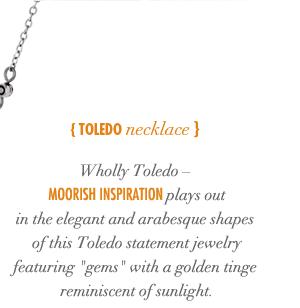 Toledo Necklace