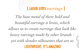 Laser Lites Earrings