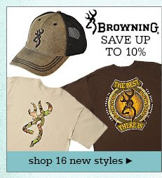 New Mens Browning Apparel