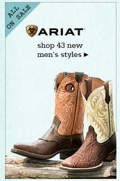 New Mens Ariat Boots