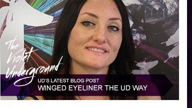 UD's Latest Blog Post - Winged Eyeliner The UD Way