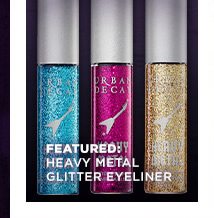 Featured: Heavy Metal Glitter Eyeliner