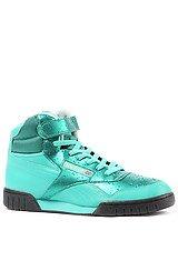 The Ex-O-Fit Plus Mid Wet Sneaker in Emerald Sea, Black, & Steel