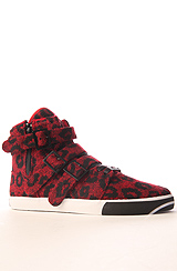 STRAIGHT JACKET VLC/RED/LEOPARD