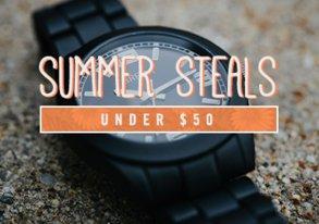 Shop Summer Steals Under $50
