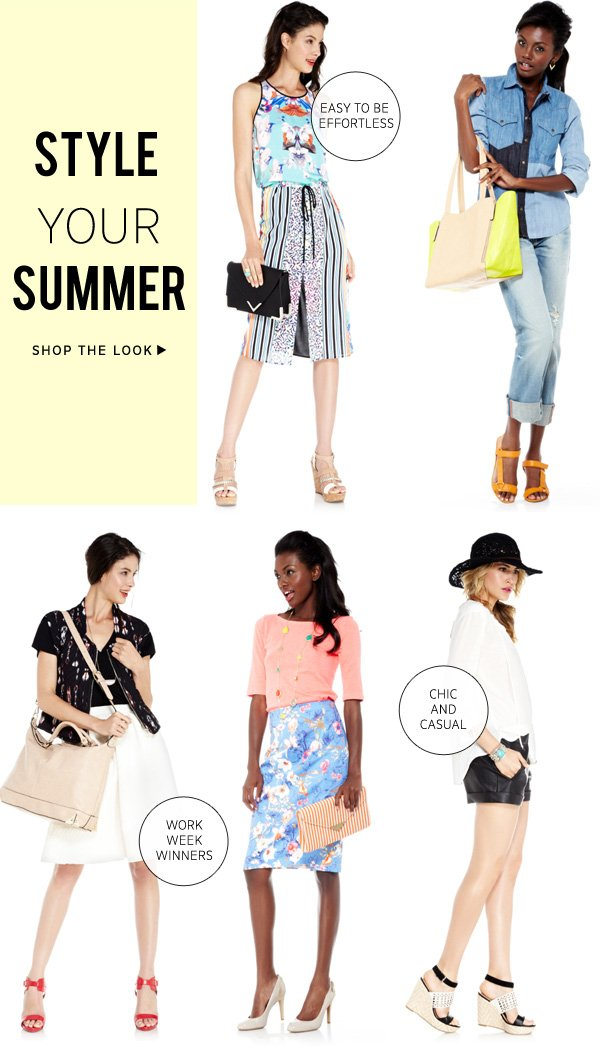 Style Your Summer | Shop the Look