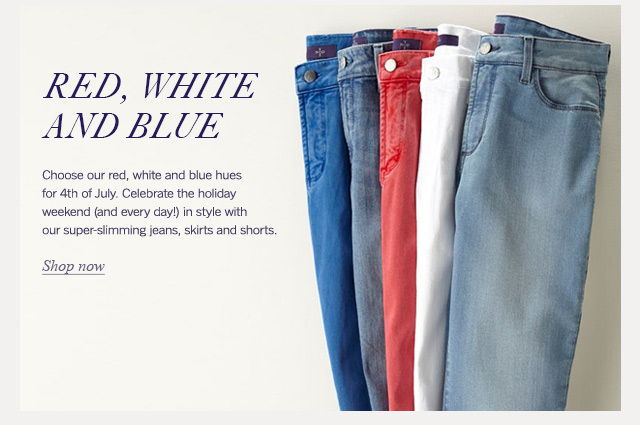 red white and blue - shop now