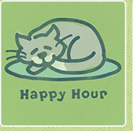Happy Hour Cat