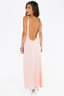 ESTELLE LOW BACK MAXI DRESS 30