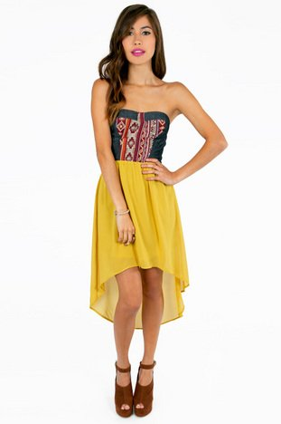 SANTANA STRAPLESS DRESS 43