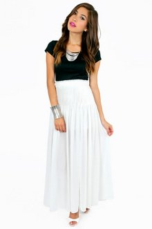 PLEATS APLENTY MAXI SKIRT 33
