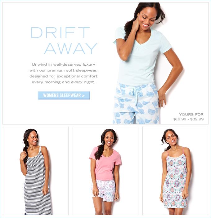 Shop Womens Sleepwear.