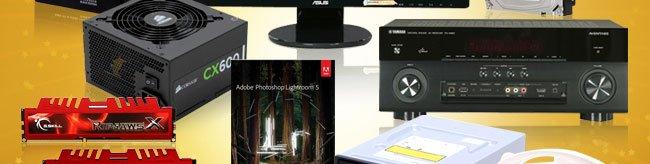 PSU, Audio, Memory, Software, ODDS