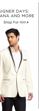 Premier Designer Days: Dolce & Gabbana + More -  Shop For Him
