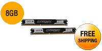 Crucial Ballistix Sport 8GB (2 x 4GB) 240-Pin DDR3 SDRAM DDR3 1600 (PC3 12800) Low Profile Desktop Memory