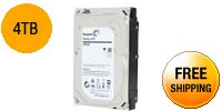 "Seagate Desktop HDD.15 ST4000DM000 4TB 64MB Cache SATA 6.0Gb/s 3.5"" Internal Hard Drive"