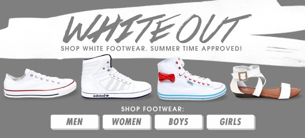 Whiteout- Shop Sneakers!
