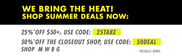 Summer Dealing! Save Now!
