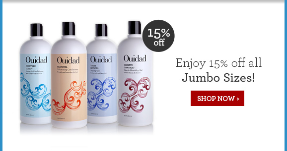 Enjoy 15% off all Jumbo Sizes! SHOP NOW