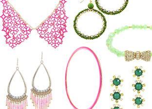 Color Your Summer: Necklaces, Earrings, Bracelets & Rings