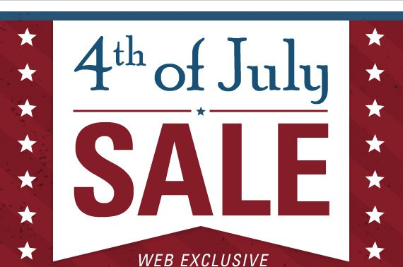 4th of July Sale