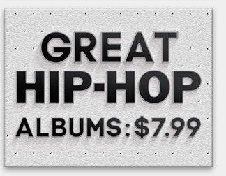 Great Hip-Hop Albums: $7.99