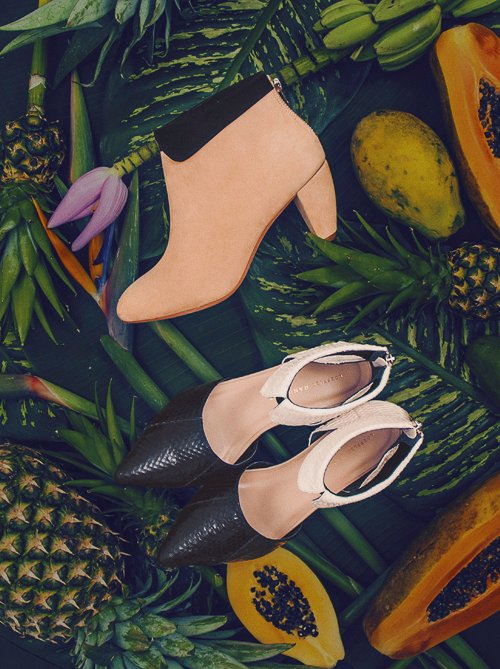 Shop Pre-fall's charming new collared footwear.