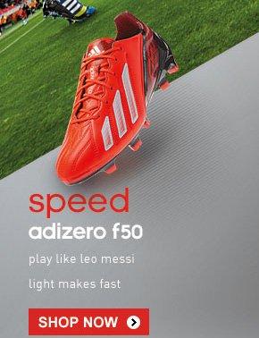 Shop adizero F50 »
