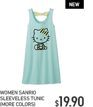 WOMEN SANRIO SLEEVELESS TUNIC
