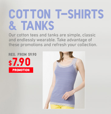 WOMEN COTTON TANKS